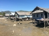 Village houses at low tide, no water, notice the satellite dishes!!